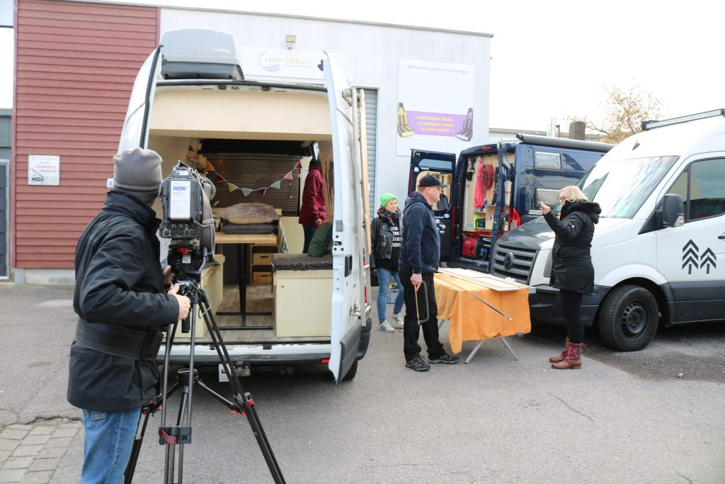 Projekt Heldencamper goes TV